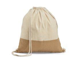 Bavlněný stahovací batoh Sablon