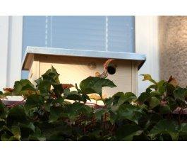 Ptačí budka na okenní parapet ZD - otvor 3,2 cm