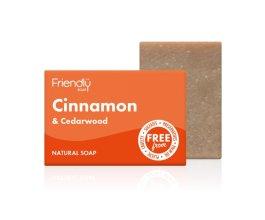 Friendly Soap přírodní mýdlo skořice a cedrové dřevo