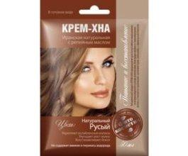 Henna s lopuchovým olejem Přírodní hnědá - 50 ml