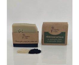 Mýdlo se zeleným jílem a aktivním uhlím - Mýdlárna Šafrán 90g