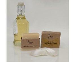 Mýdlo s arganovým olejem a hedvábím - Mýdlárna Šafrán 90g