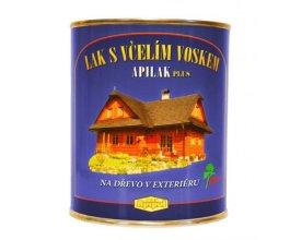 APILAK  PLUS -lak na venkovní dřevo s včelím voskem 0,7 l