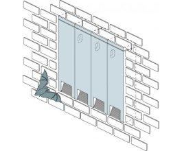Budka pro netopýry na stěny nebo do zateplení 2FR - i pro skupinové použití
