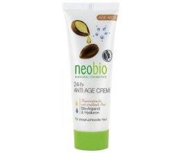 Neobio 24 h Anti Age krém Arganový & Hyaluron 50 ml