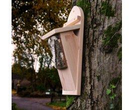 Ptačí budka - pro šoupálky - dřevěná