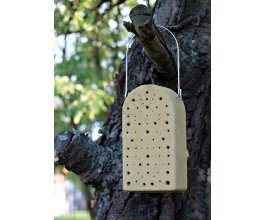 Včelky samotářky - cihla z dřevocementu