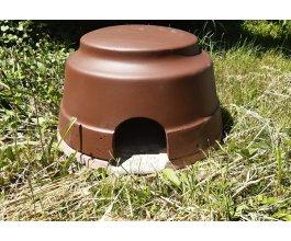 Celoroční domov pro ježky - izolovaný