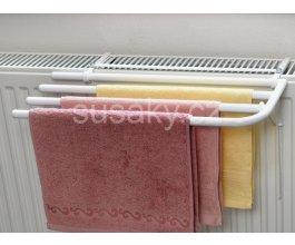 Sušák ručníků na klasické radiátory na 3 ručníky