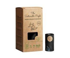 Kompostovatelné sáčky na psí exkrementy 112 ks