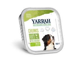 Kuřecí kousky se zeleninou ve šťávě - Yarrah BIO 150 g