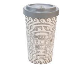 Woodway - dekorační kelímek z bambusu Greek 500 ml