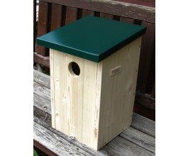 Ptačí budka pro strakapoudy ZD - otvor 5,5 cm