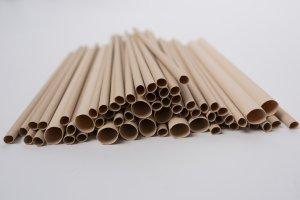 Trubičky z drceného bambusu pro včelky samotářky 6mm - 50 ks