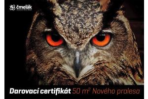 Certifikát Nový prales 50 m2