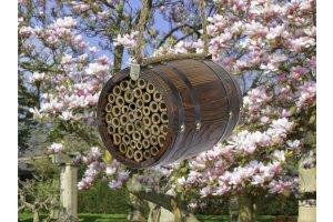 Včelky samotářky - Domek ve tvaru soudku