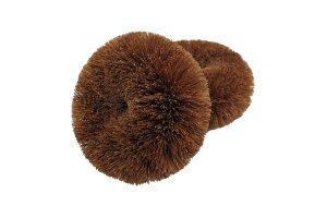 Sada 2 ks houbiček z kokosových vláken
