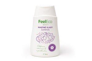 Feel eco - vlasový šampon na mastné vlasy 300ml
