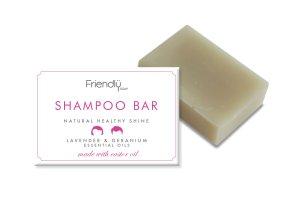 Friendly Soap přírodní mýdlo na vlasy levandule a pelargónie