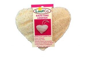 Tělová houba ve tvaru srdce LoofCo