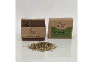 Mýdlo Intim s kontryhelem - Mýdlárna Šafrán 90g