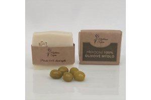Mýdlo Olivové - Mýdlárna Šafrán 90g