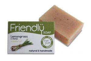 Friendly Soap přírodní mýdlo citronová tráva a konopí