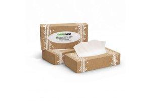 Kosmetické utěrky z cukrové třtiny Green Cane - 90 ks