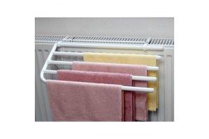 Sušák ručníků na klasické radiátory na 4 ručníky