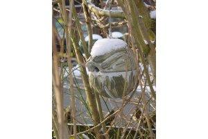 Ptačí budka - koule pro střízlíky, sýkorky a vrabce