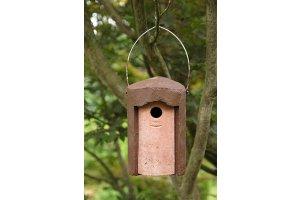 Ptačí budka 1B  - otvor 3,2 cm