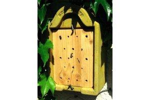 Včelky samotářky - dům s průhlednými dutinkami