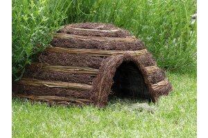 Domek pro ježky kulatý