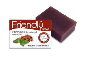 Friendly Soap přírodní mýdlo pačuli a santalové dřevo