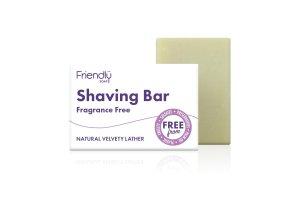 Friendly Soap přírodní mýdlo na holení bez vůně