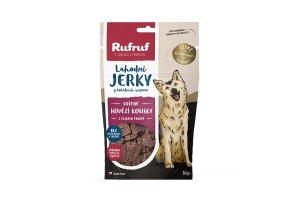 Rufruf pamlsky - Hovězí jerky 50g