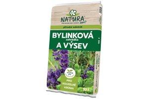 Substrát bylinková zahrádka a výsev Natura 10l