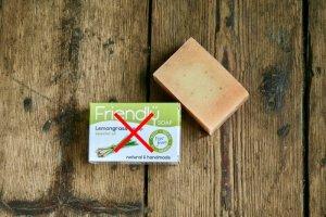 Friendly Soap Zero waste sada přírodního mýdla - citronová tráva a konopí 7ks