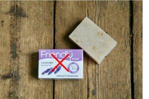Friendly Soap Zero waste sada přírodního mýdla levandule - 7ks