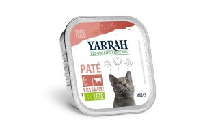Paté hovězí s čekankou 100g - Pro kočky Yarrah BIO
