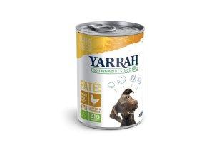 Konzerva pro psy Paté s kuřetem 400 g - Yarrah BIO