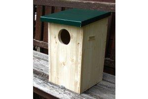 Ptačí budka pro sovy 4 ZD - otvor 8 cm