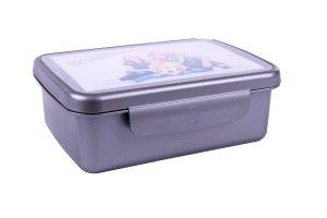 Svačinový box Zdravá sváča - stříbrná