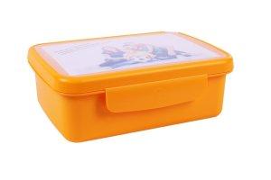 Svačinový box Zdravá sváča - oranžová